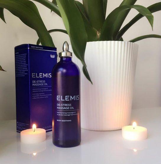 Elemis De Stress Massage oil & The Benefits of Massage