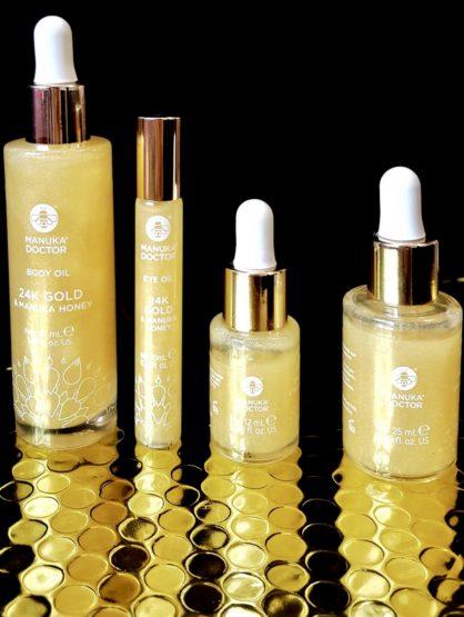 Glow like a Kardashian with the Manuka Doctor 24K Gold Oils!
