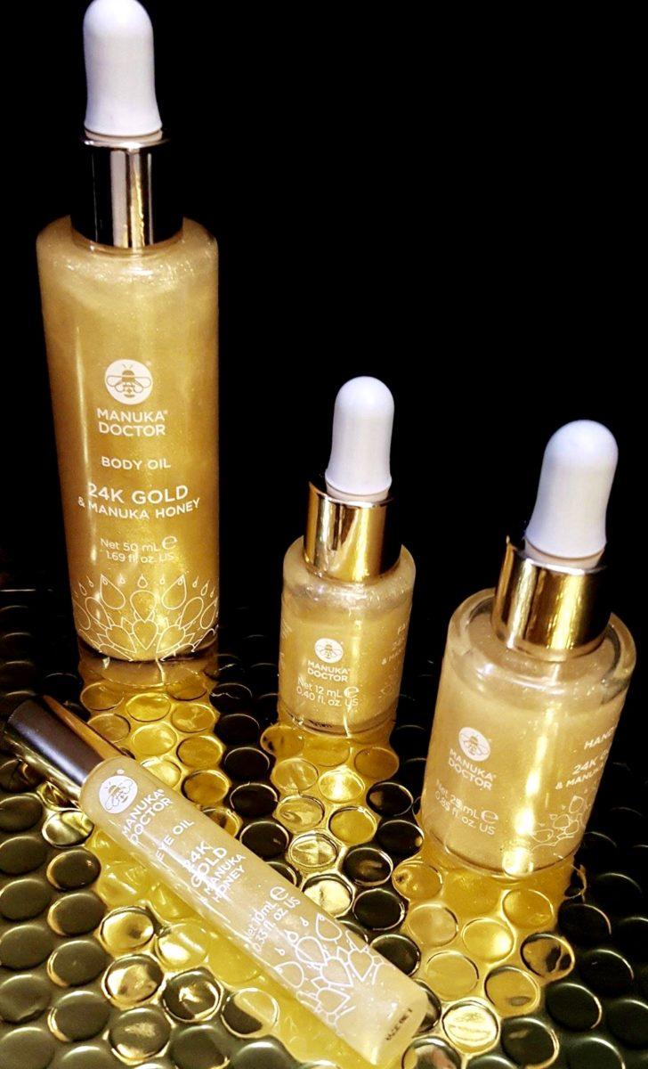 Glow like a Kardashian with the Manuka Doctor 24K Gold Oils