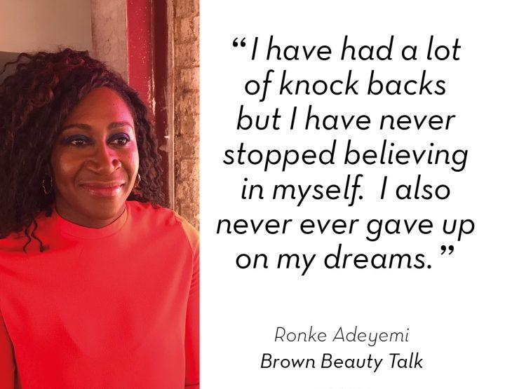 Meet Wow Woman Ronke Adeyemi of Brown Beauty Talk