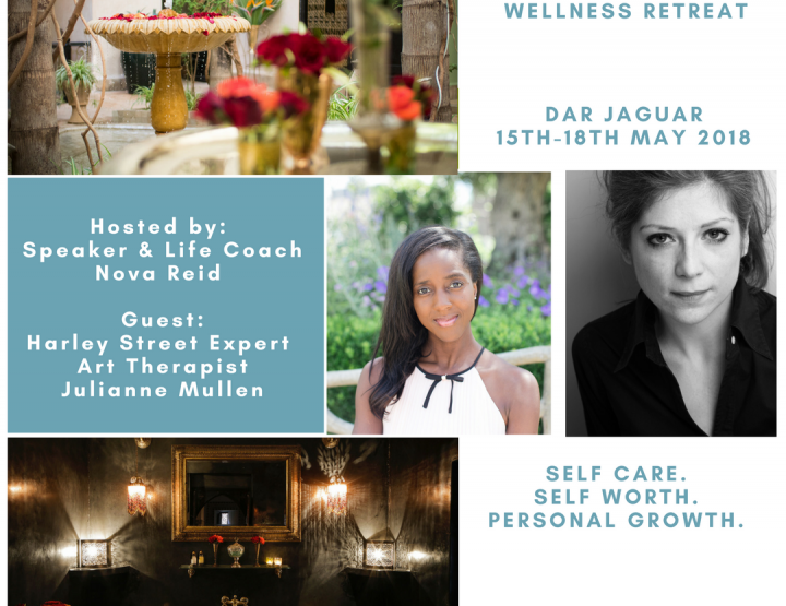 Make Self Care a priority at Nova Reid's Marrakech wellness retreat!