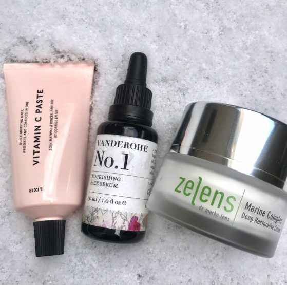 My skincare for a Siberian Winters Day