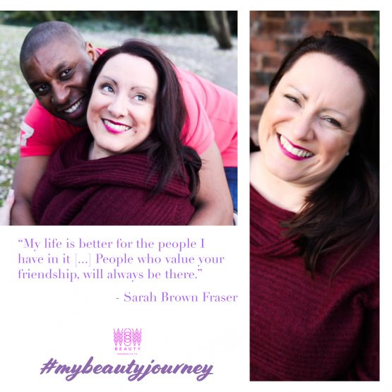 My Beauty Journey with Sarah Brown Fraser