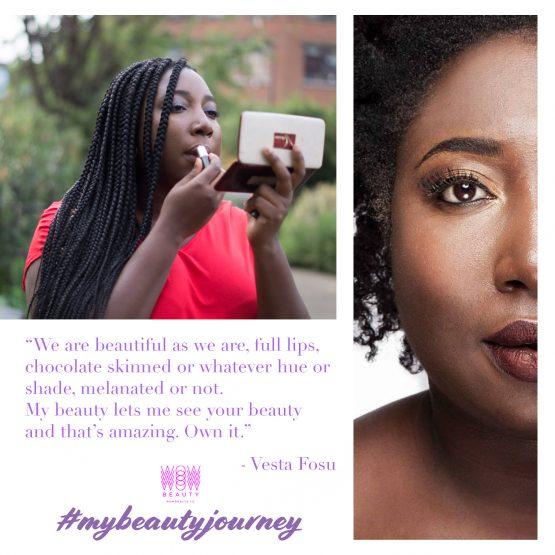 My Beauty Journey with Vesta Fosu