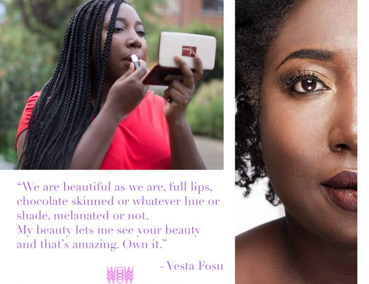 My Beauty Journey with Vesta Fosu