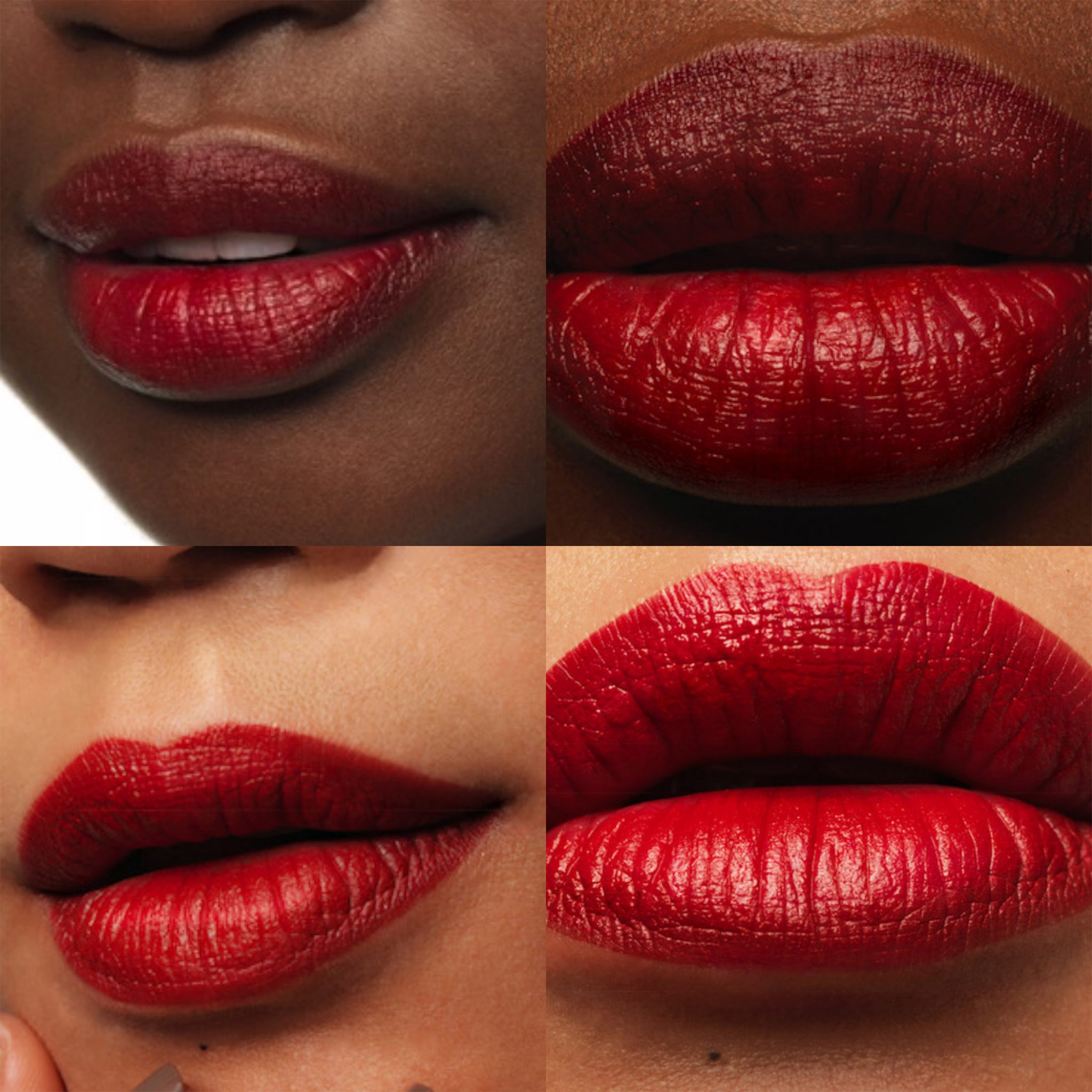 red lips grid