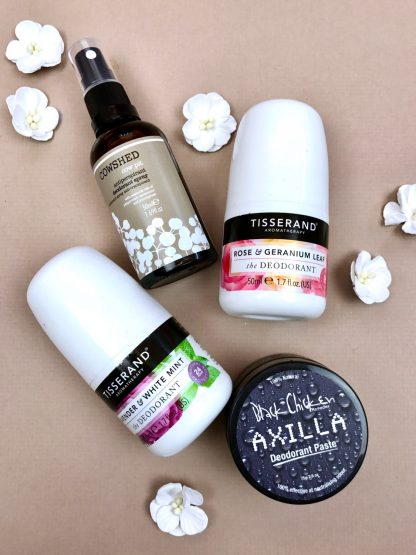 Give your armpits some love with these natural deodorants!