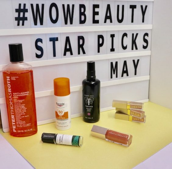 Wow Beauty's Star Picks - May 2018