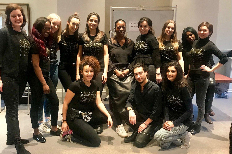 wow beauty feb team smaller
