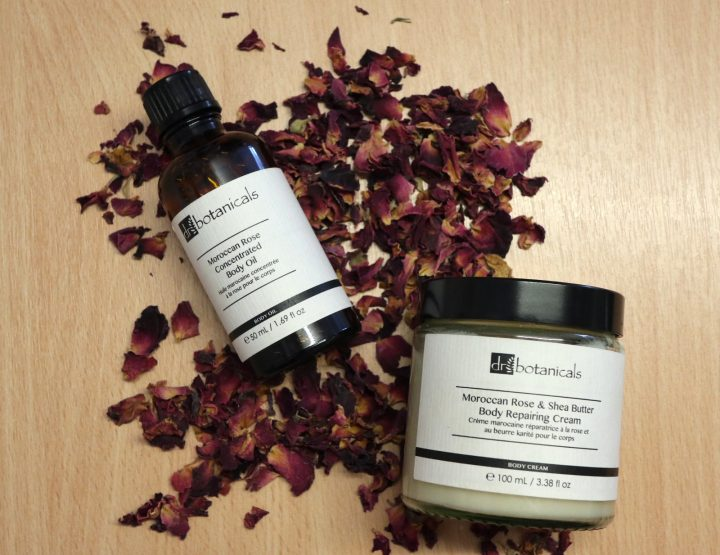 Here's Dr Botanicals Moroccan Rose body treats!