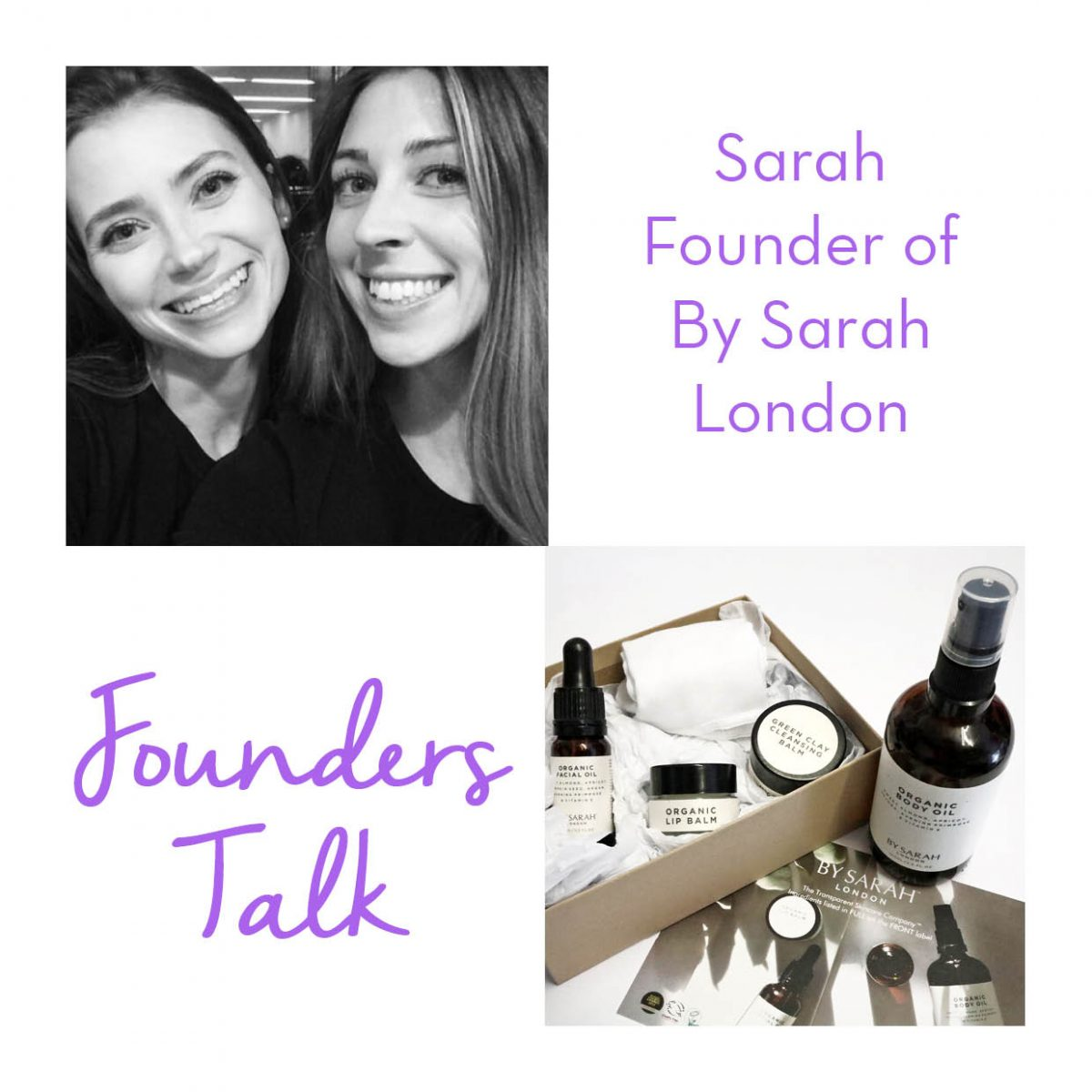 By Sarah Founders Talk