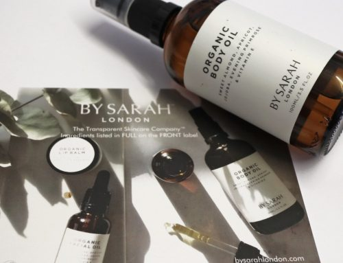 Pure pampering with BY SARAH body oil