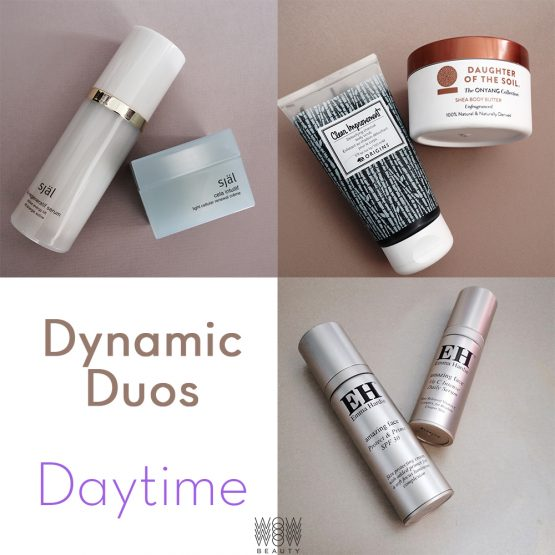 Dynamic Duos for Daytime Skincare