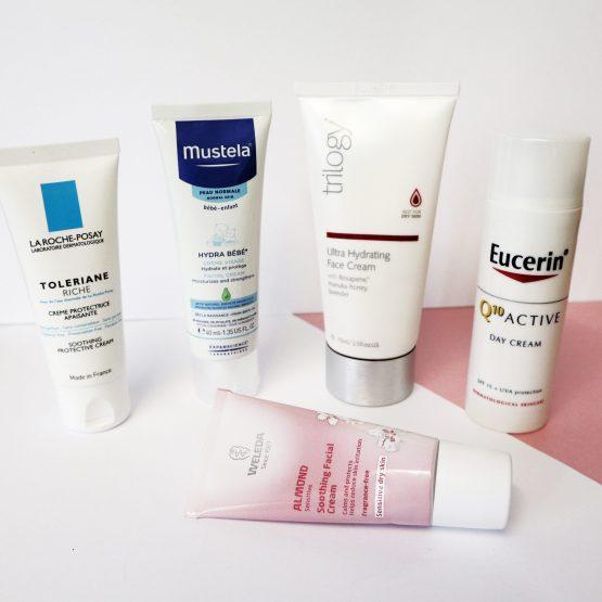 Ultimate face creams for sensitive skin