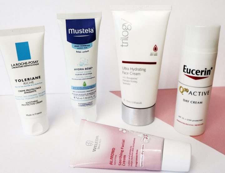 Ultimate face creams for sensitive skin