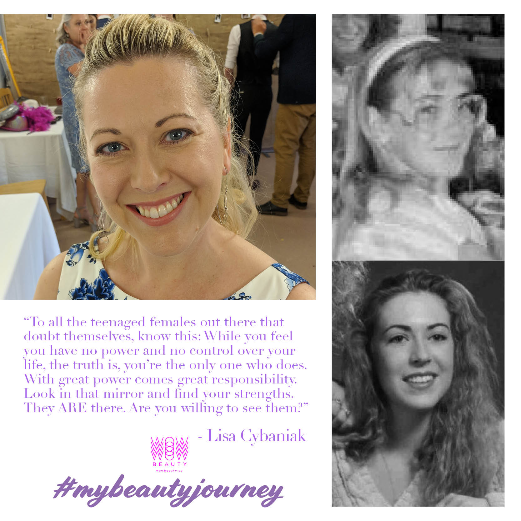 My Beauty Journey Lisa Cybaniak