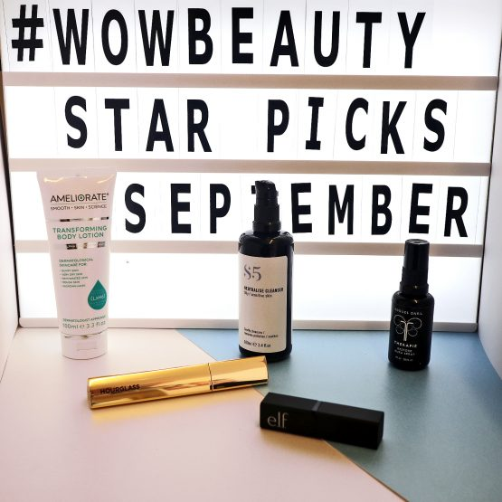 Wow Beauty's Star Picks –  September 2018