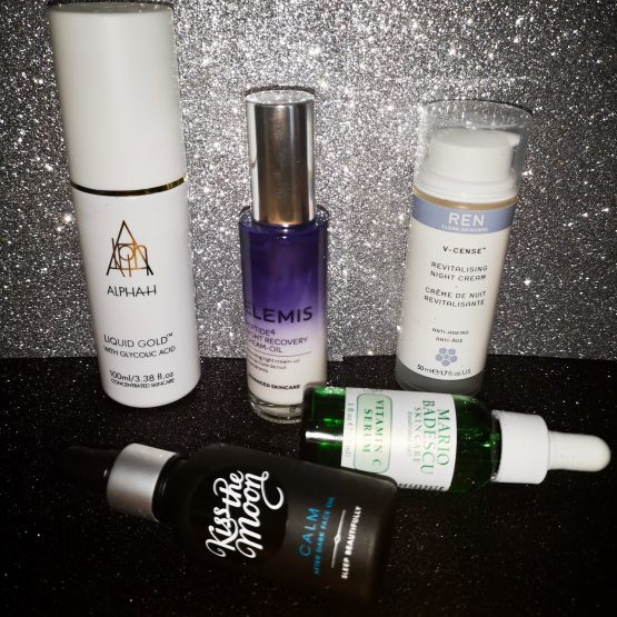 Night time skin boosts for that extra hour!