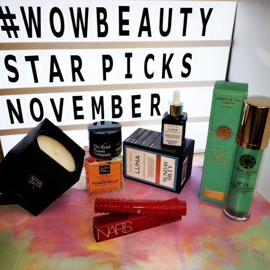 Wow Beauty's Star Picks – November 2018