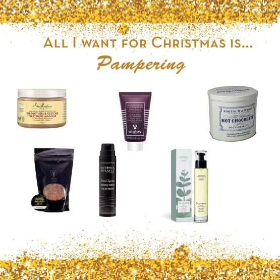 All I want for Christmas is… Pampering!