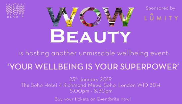 'Your Wellbeing is Your Superpower' Event!
