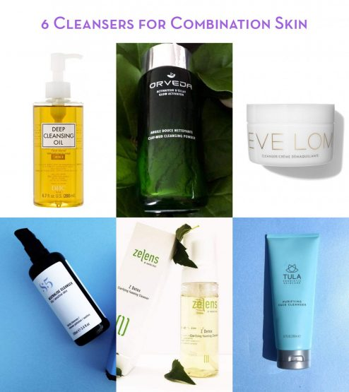 6 Cleansers for Combination Skin