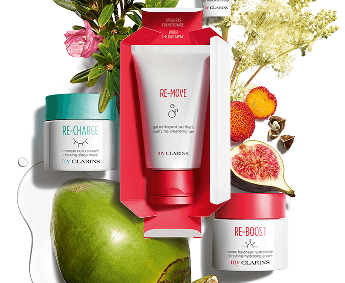 Clarins have launched new 'My Clarins' range