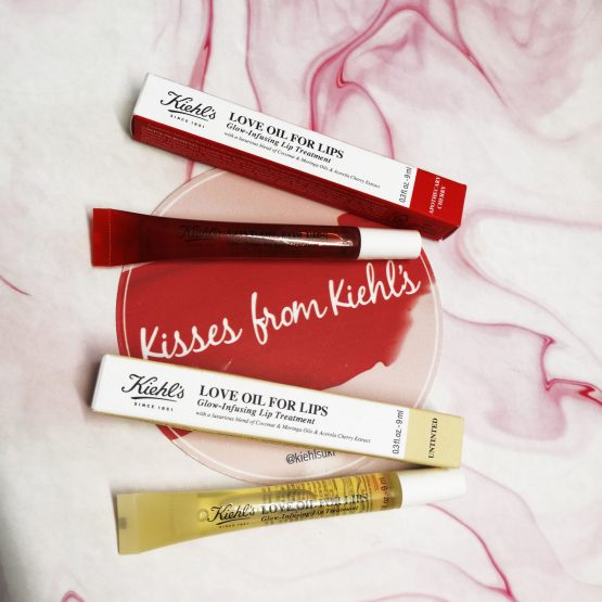 Love these lip oils from Kiehl's