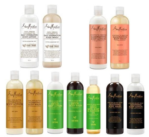 Shea Moisture has launched their bath and body range in the UK!