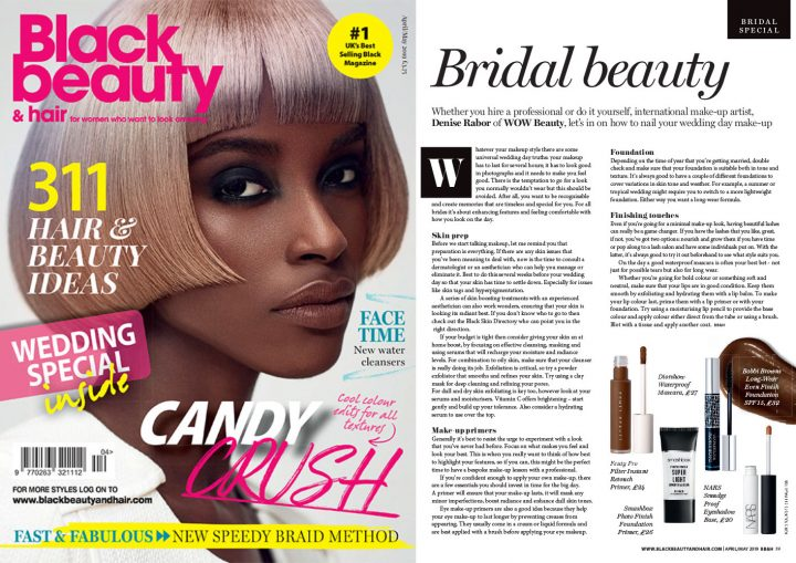 Bridal Beauty! Black Beauty & Hair Magazine