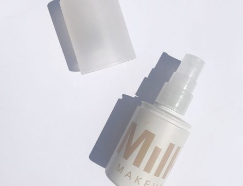 Spray and Glow with Milk Makeup