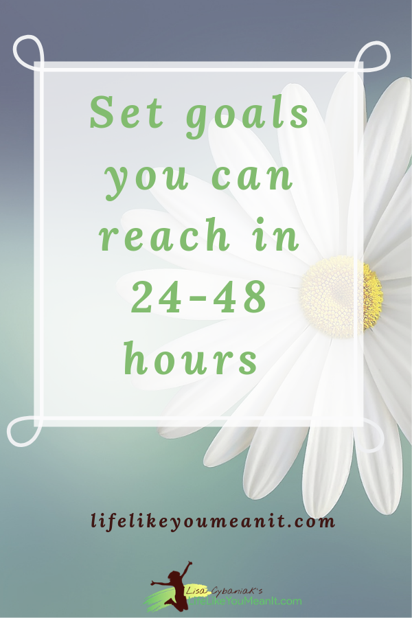 Your confidence and self esteem take a hit each time you struggle to reach a goal, whether in your career or your personal life. Is it because your goals are unrealistic? Are you not capable of reaching them? NO! You're only struggling because you've missed a key piece: the smaller goals. #goalsetting #goal #nlpcoach #changeyourlife]