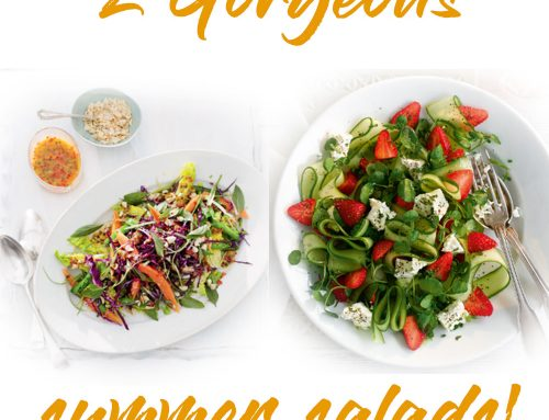 2 Gorgeous Summer Salads