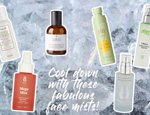 Cool down with these fabulous face mists!