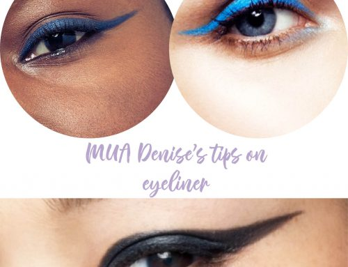MUA Denise's tips on eyeliner