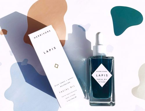 Soothe your skin with Herbivore's Lapis Facial Oil