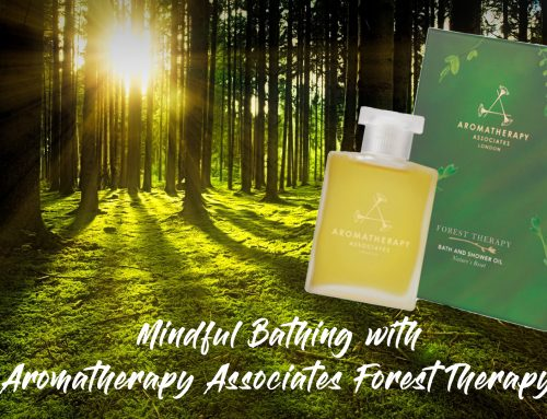 Mindful Bathing with  Aromatherapy Associates Forest Therapy