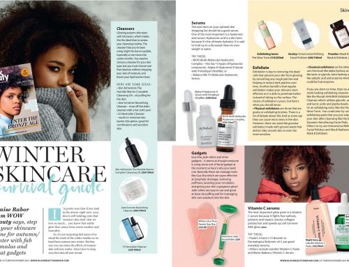 Your Winter Skincare Survival Guide – Black Beauty and Hair Magazine